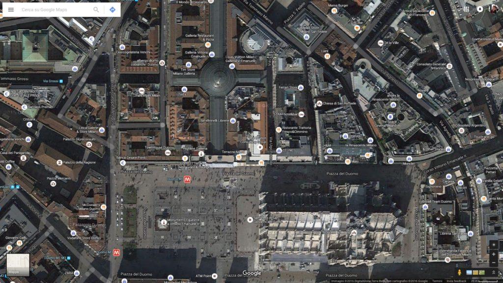 Google Earth e Maps google mappe 1200 milano