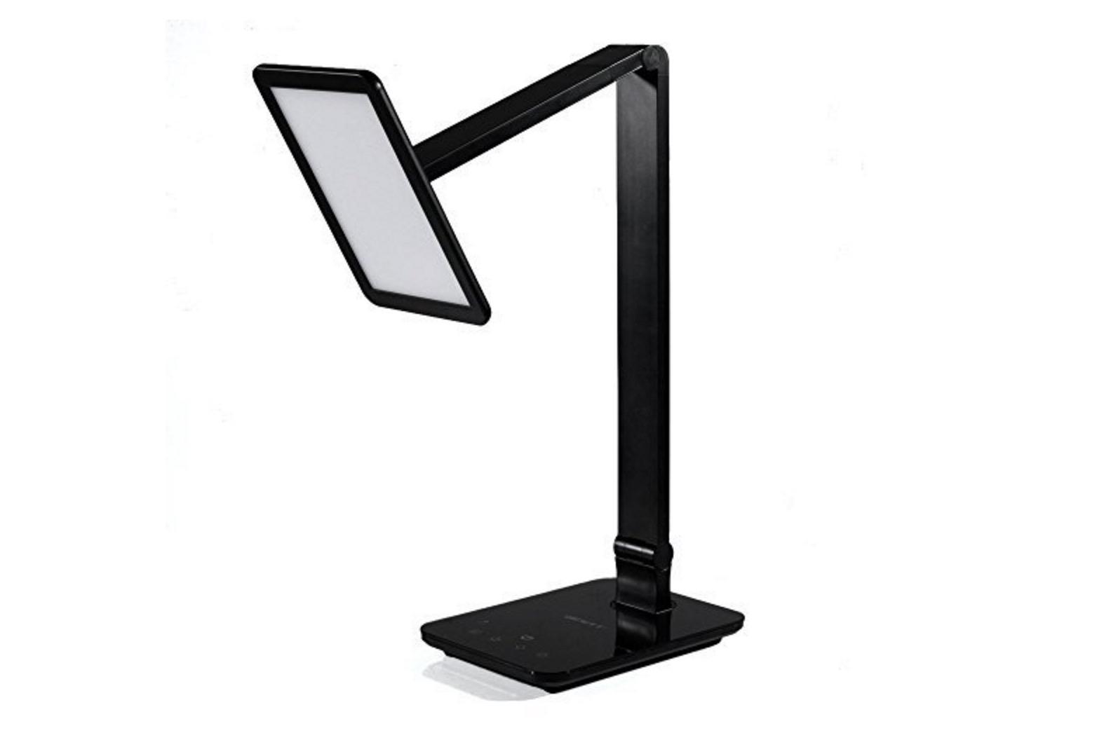 Lampada da tavolo led con usb e controlli touch solo 39 for Lampada led da scrivania