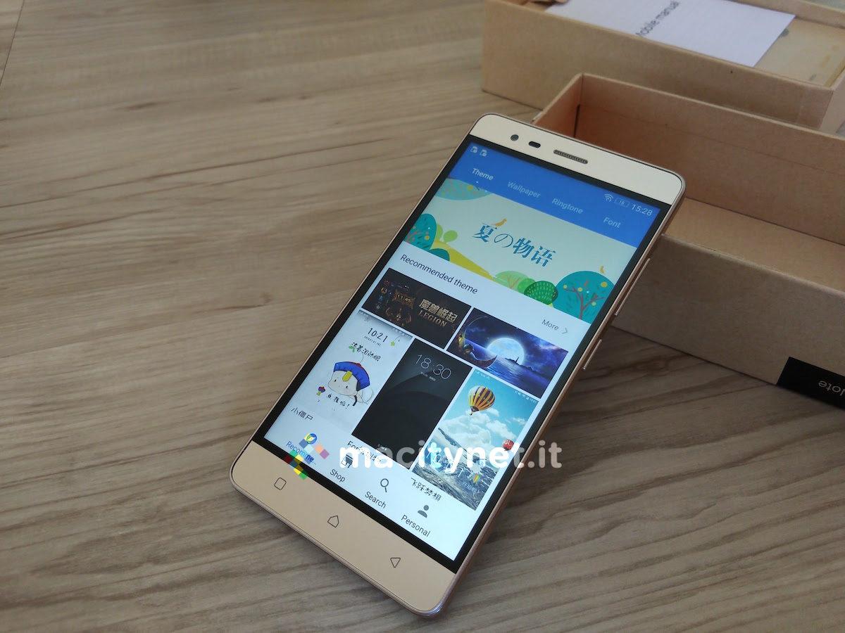 Recensione lenovo k5 note grande nelle dimensioni for Smartphone piccole dimensioni