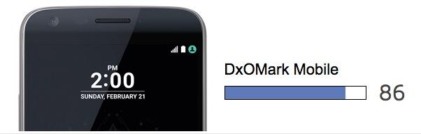 lg g5 dxomark