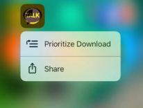 In iOS 10 l'utente domina la priorità dei download