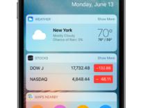 schermata di blocco iOS 10