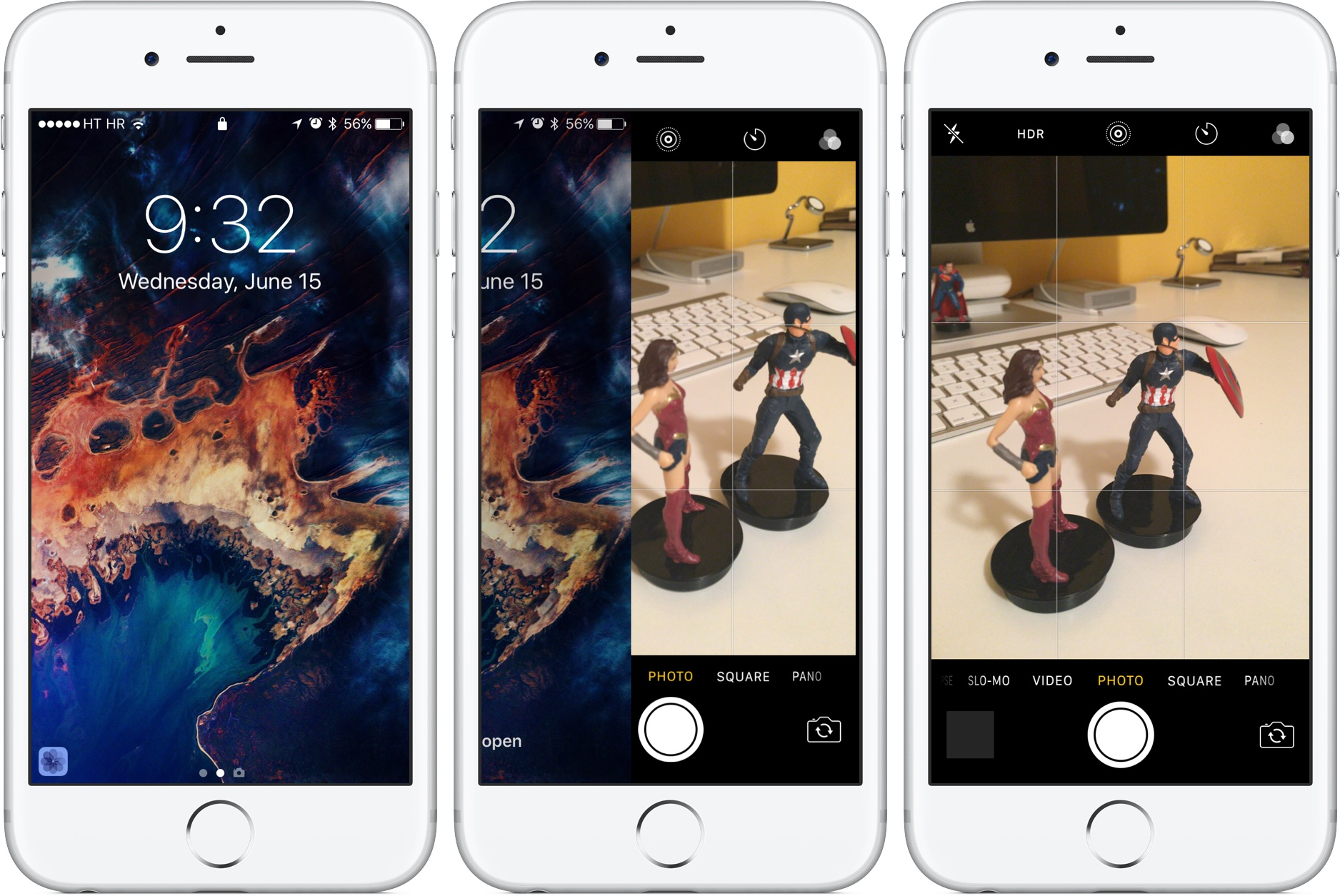 immagini schermata blocco iphone