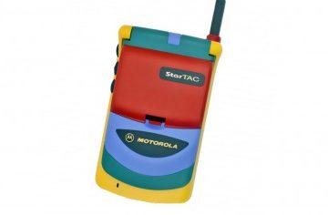 Motorla StarTac Rainbow