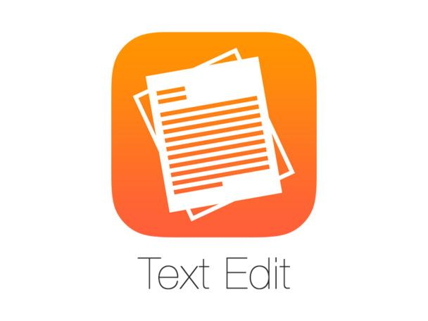 textedit iOS 10