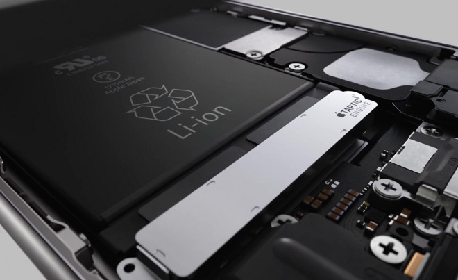 brevetto sulle batterie apple citata