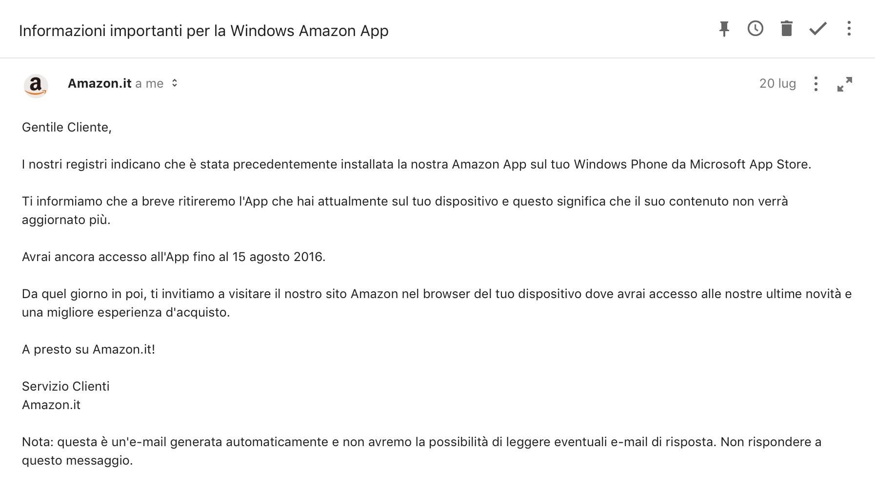 Amazon Windows Phone