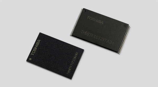 Toshiba memoria Flash 3D