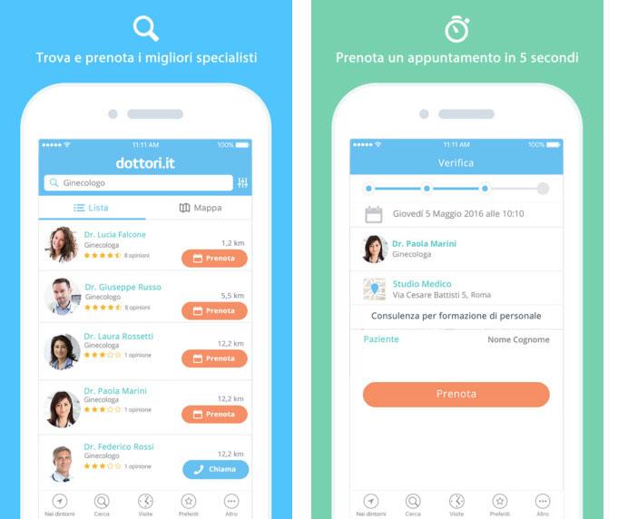 Esempio app dottori.it