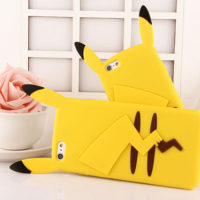 Fashion-Cute-Pocket-Monsters-Pikachu-Cell-Phones-Cases-Soft-Silicon-Cover-Back-For-iPhone-4-5s