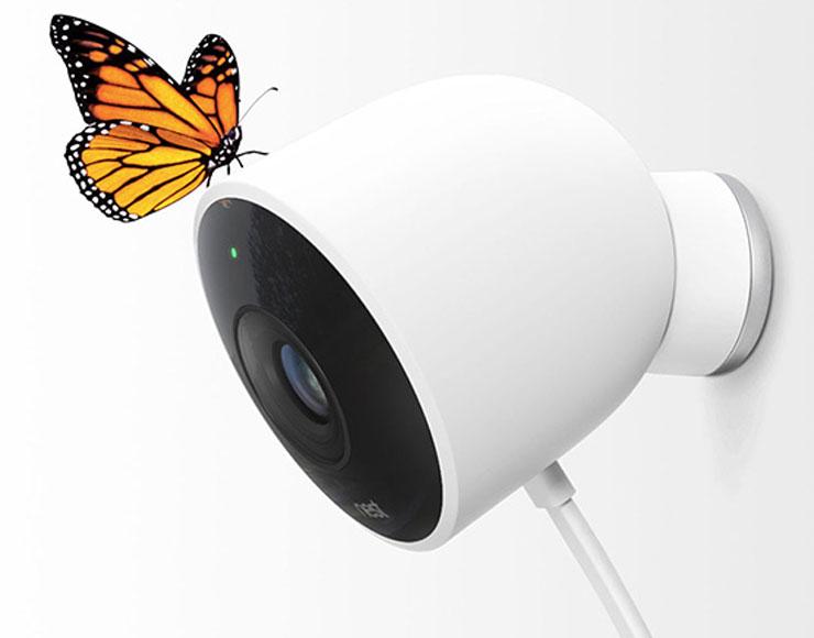 nest ha annunciato una telecamera per esterni. Black Bedroom Furniture Sets. Home Design Ideas