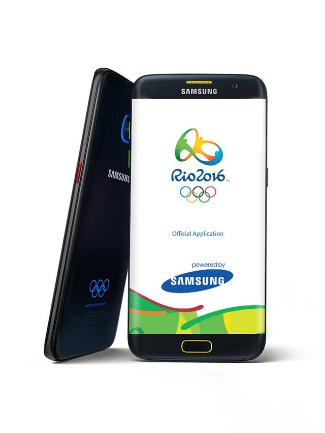 Samsung Galaxy S7 edge Olympic Games Limited Edition 1