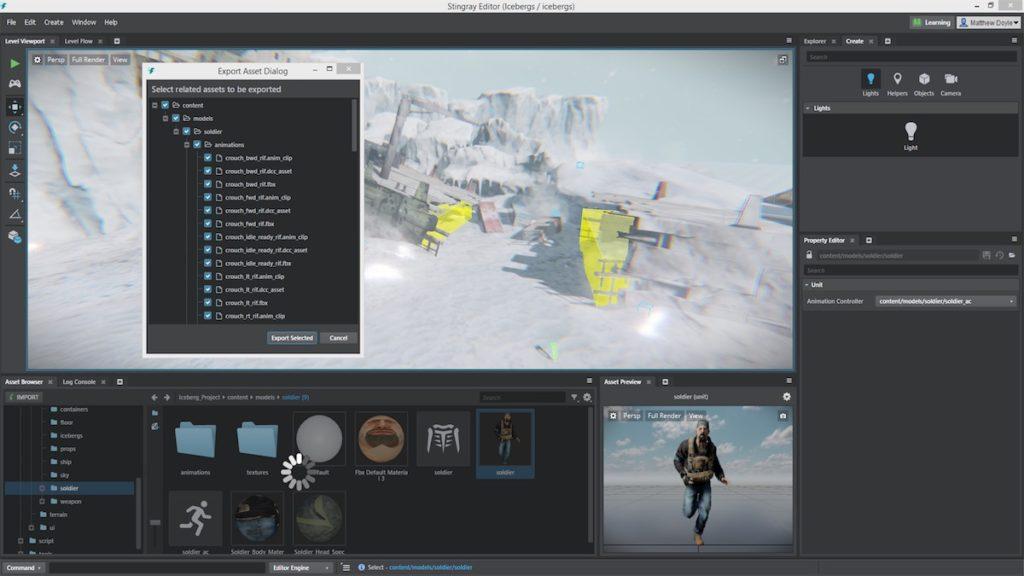 Maya LT 2017 e Autodesk Stingray