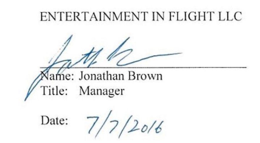 Firma Brown per AirPod