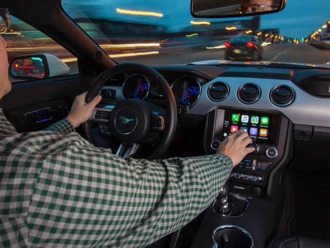 carplay e android auto FORD 2017