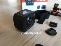 Recensione Elecam 360, la camera a 360 gradi con doppia lente