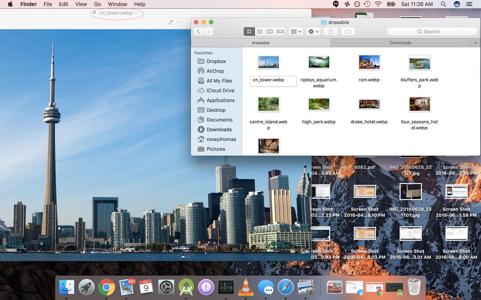 Supporto webP in OS X Sierra
