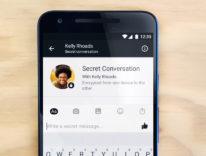 Facebook Messenger crittografia