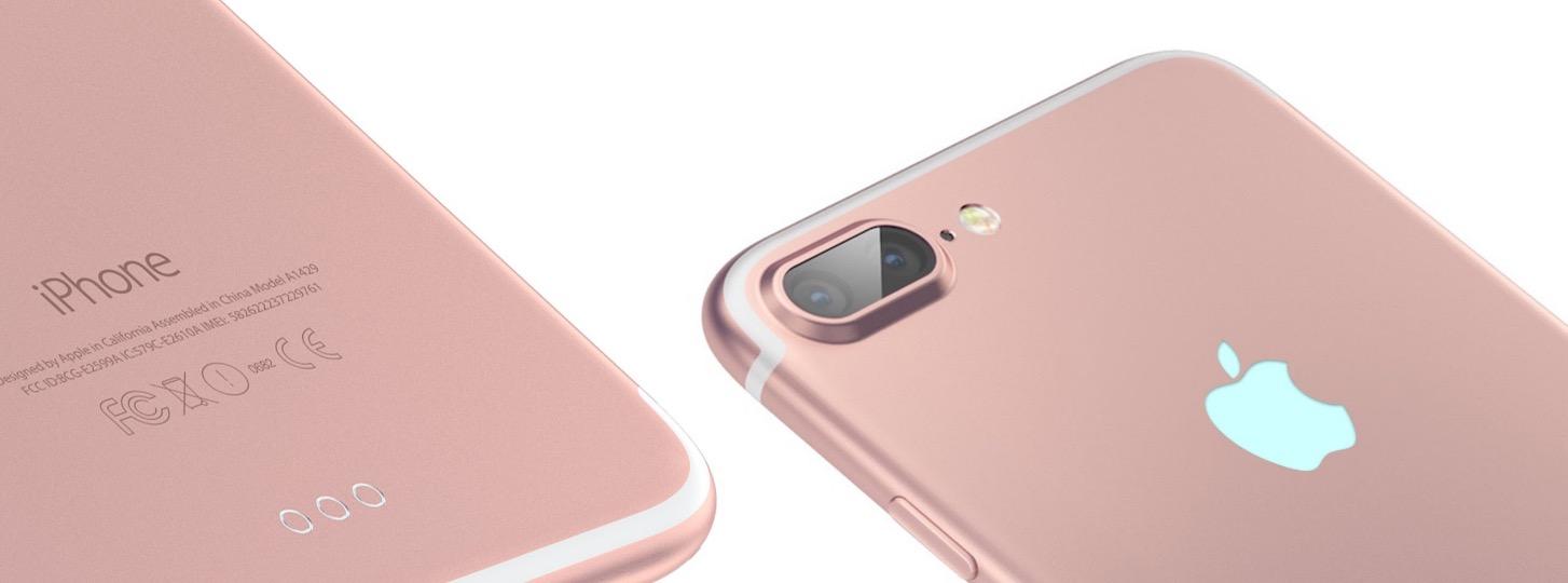 iPhone 7 oro-rosa