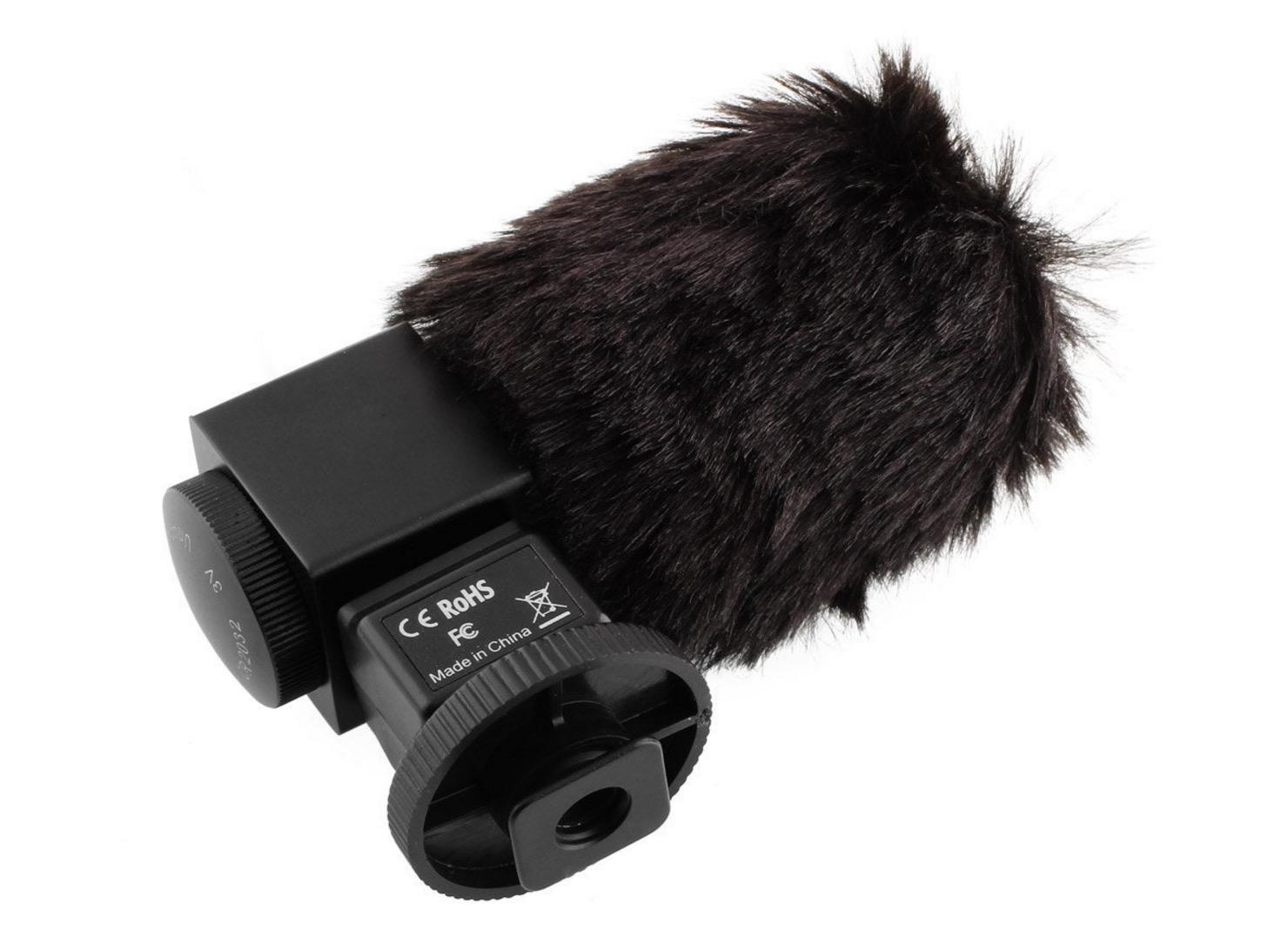 microfono reflex antivento