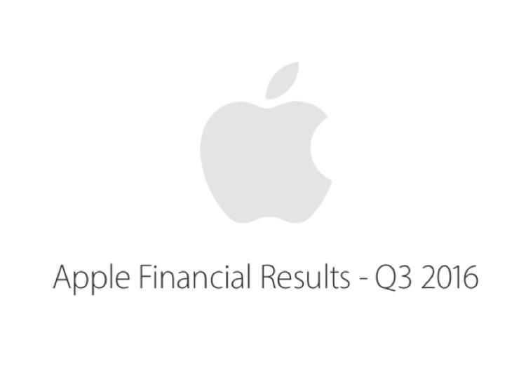 risultati fiscali Q3 2016 apple 750