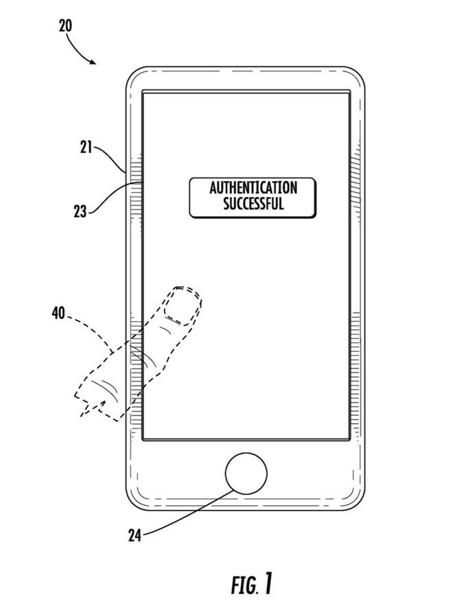touch id senza tasto brevetto apple