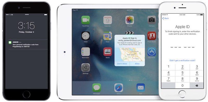 verifica SMS apple autenticazione 2
