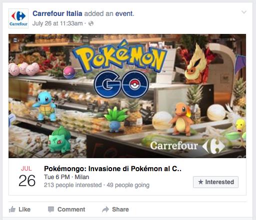 A caccia di Pokemon da Carrefour 1