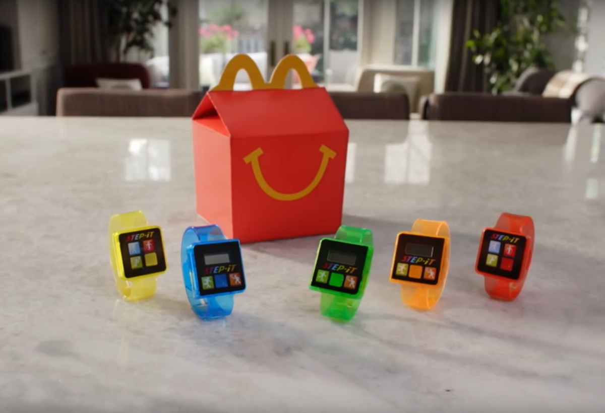 Happy Meal bracciale fitness