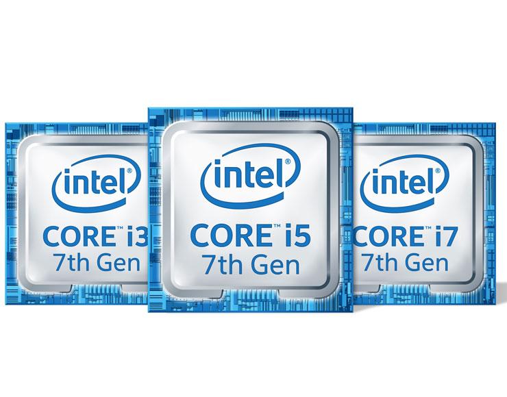 CPU Settima Generazione Intel