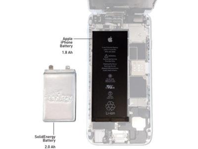 Batteria SolidEnergy