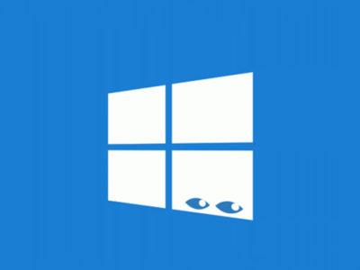 Windows 10 spia