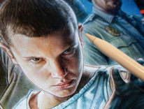 La locandina di Stranger Things creata con iPad Pro e Apple Pencil