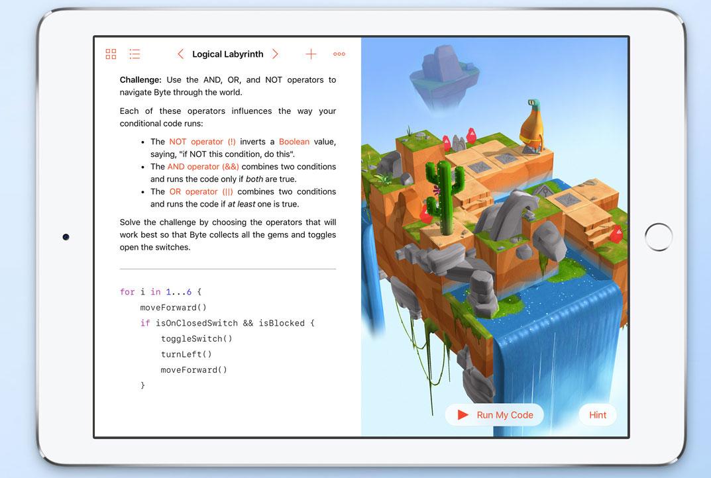 code week Swift Playgrounds