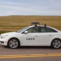 mapping car di Uber