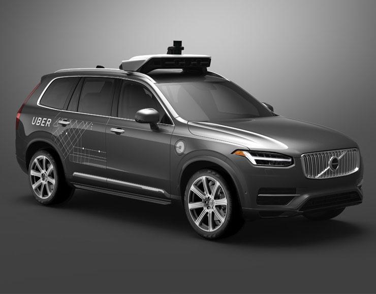Uber e Volvo