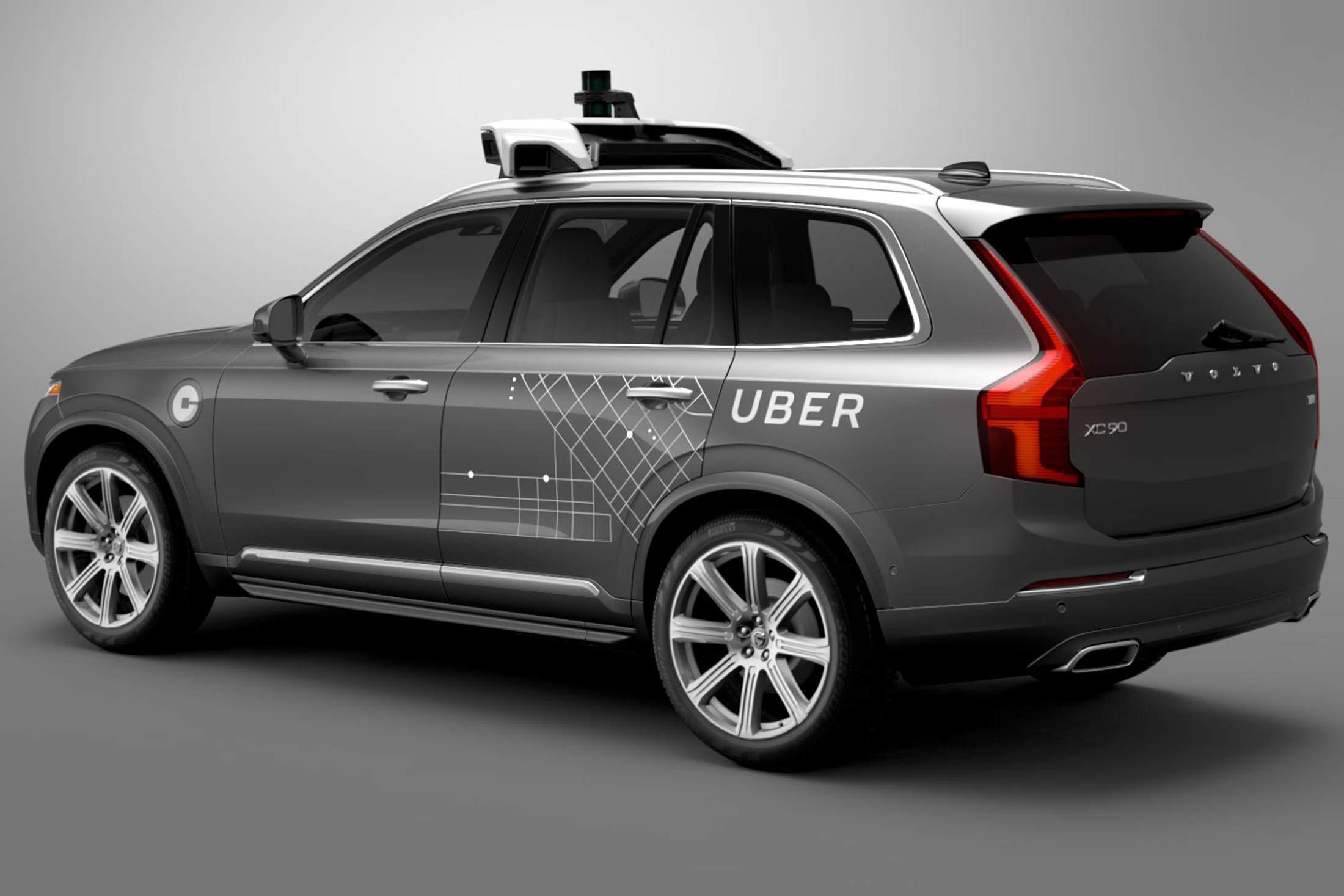 auto a guida autonoma uber 1