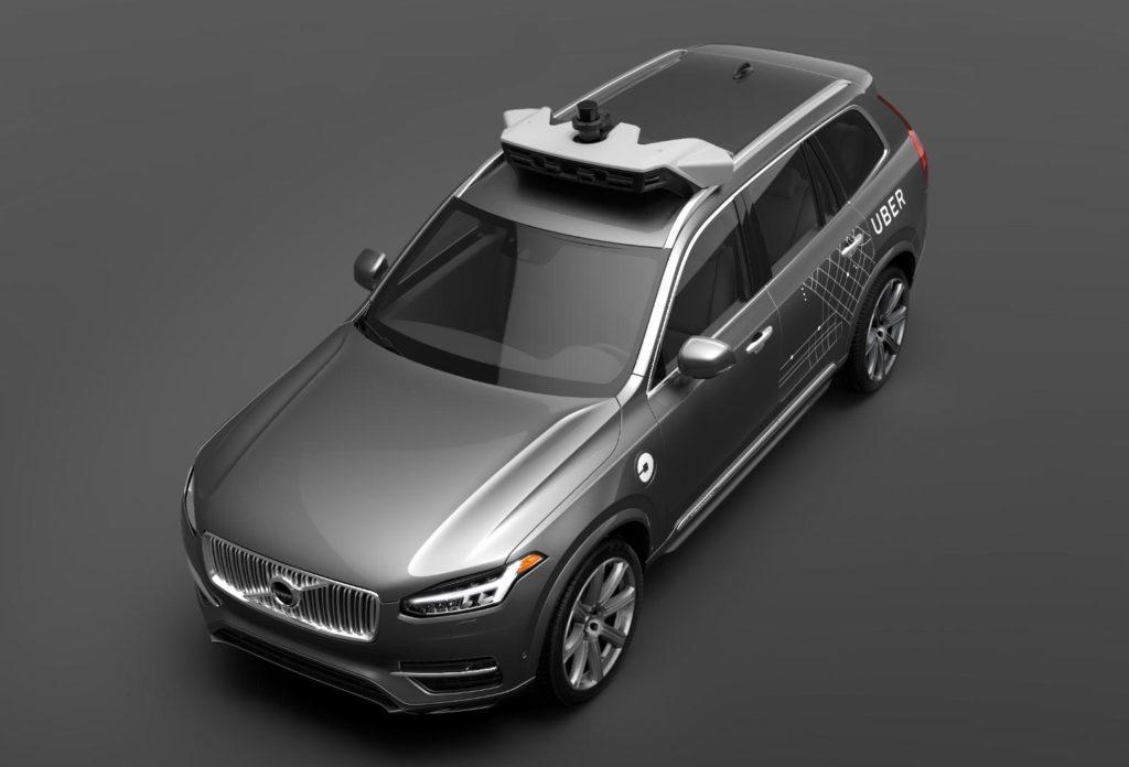 auto a guida autonoma uber 2