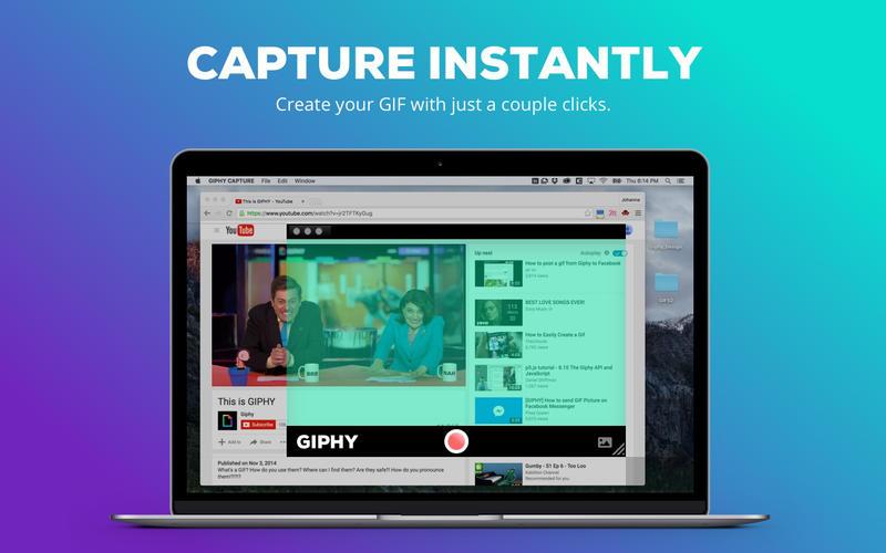 creare gif su mac