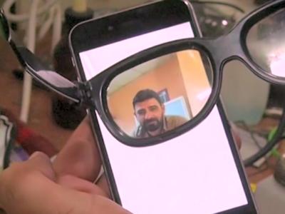display invisibile smartphone