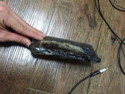 Galaxy Note 7 esploso