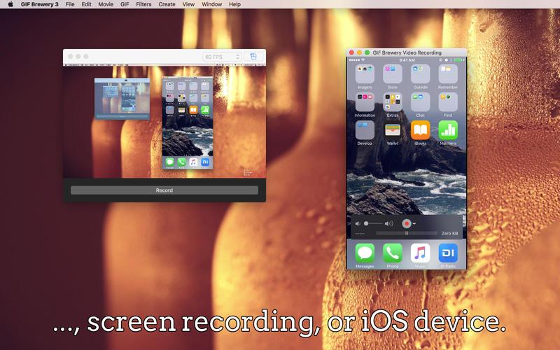 creare gif animate su mac