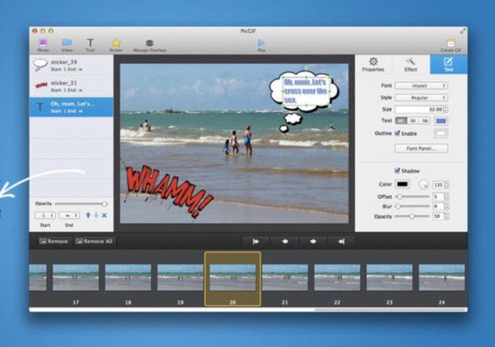 Creare GIF animate su Mac partendo da video o foto, le app gratis e a pagamento