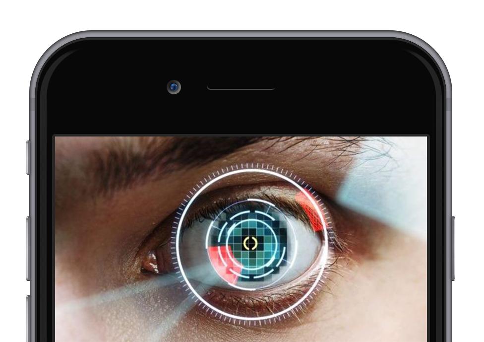 iPhone 2017 scanner iride