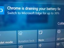 Microsoft invita gli utenti Windows 10 a non usare Chrome