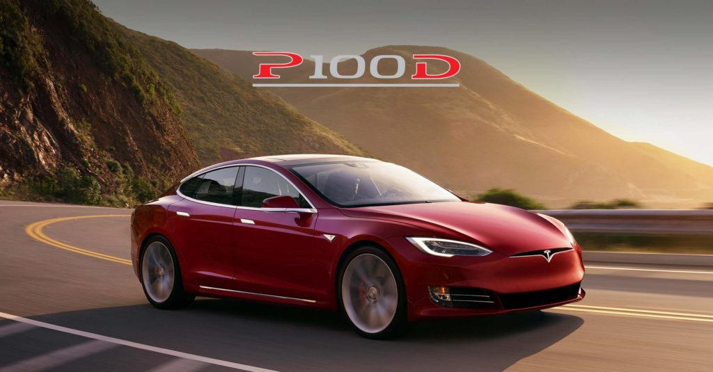 update batterie Tesla P100D