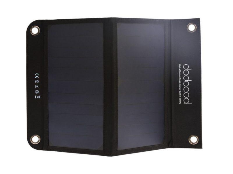 Pannello Solare Con Batteria : Pannello solare con batteria da mah incorporata