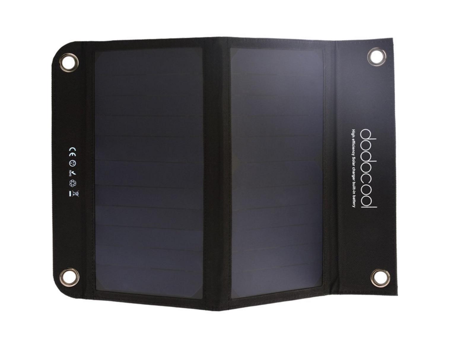 d44f417210 Pannello solare con batteria da 10.000 mAh incorporata: sconto 34,29 ...