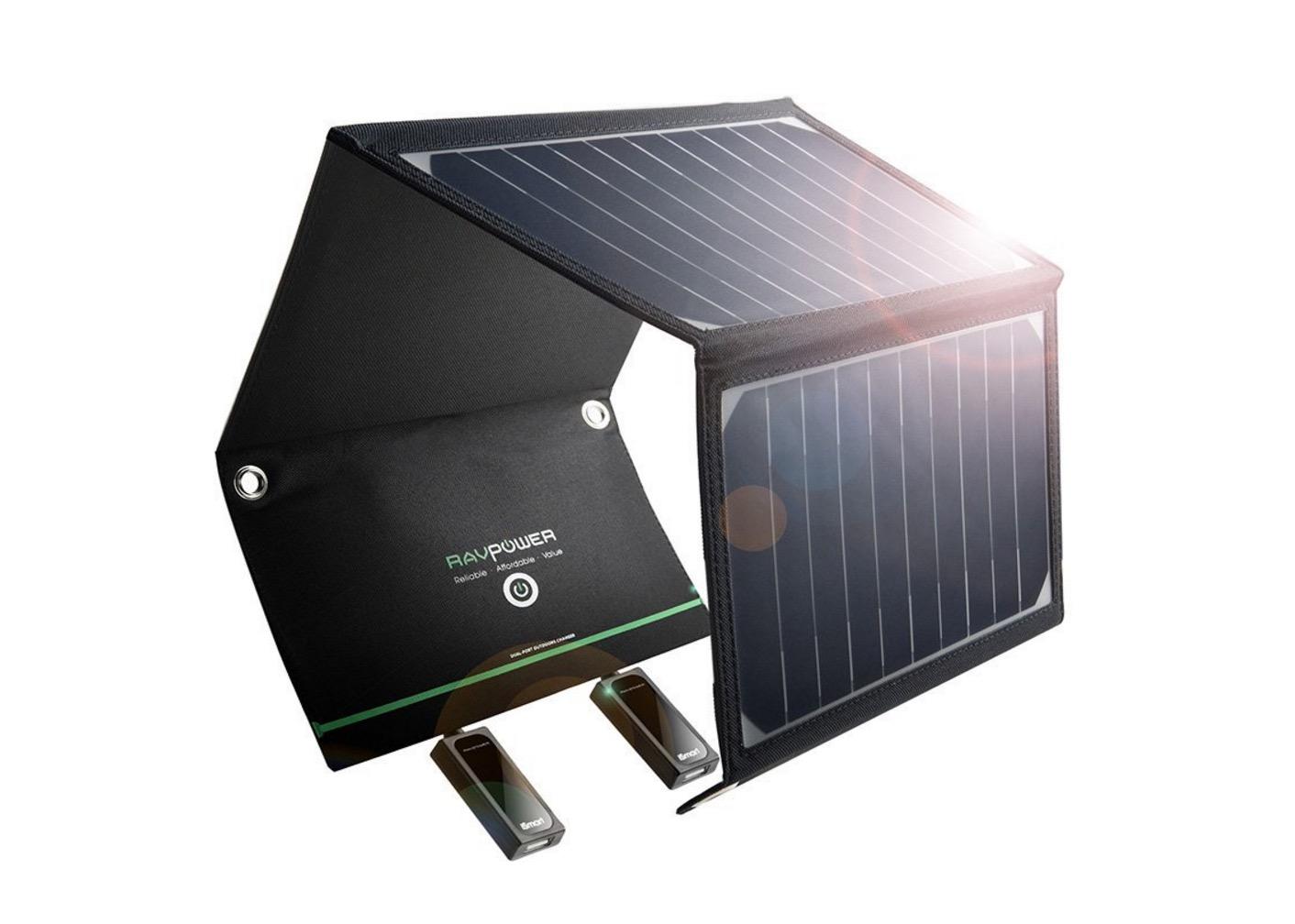 Pannello Solare Per Ricaricare Auto Elettrica : Pannello solare w ricarica i dispositivi tramite usb
