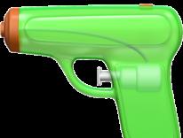 Apple contro le armi: in iOS 10 l'emoji del revolver diventa una pistola ad acqua